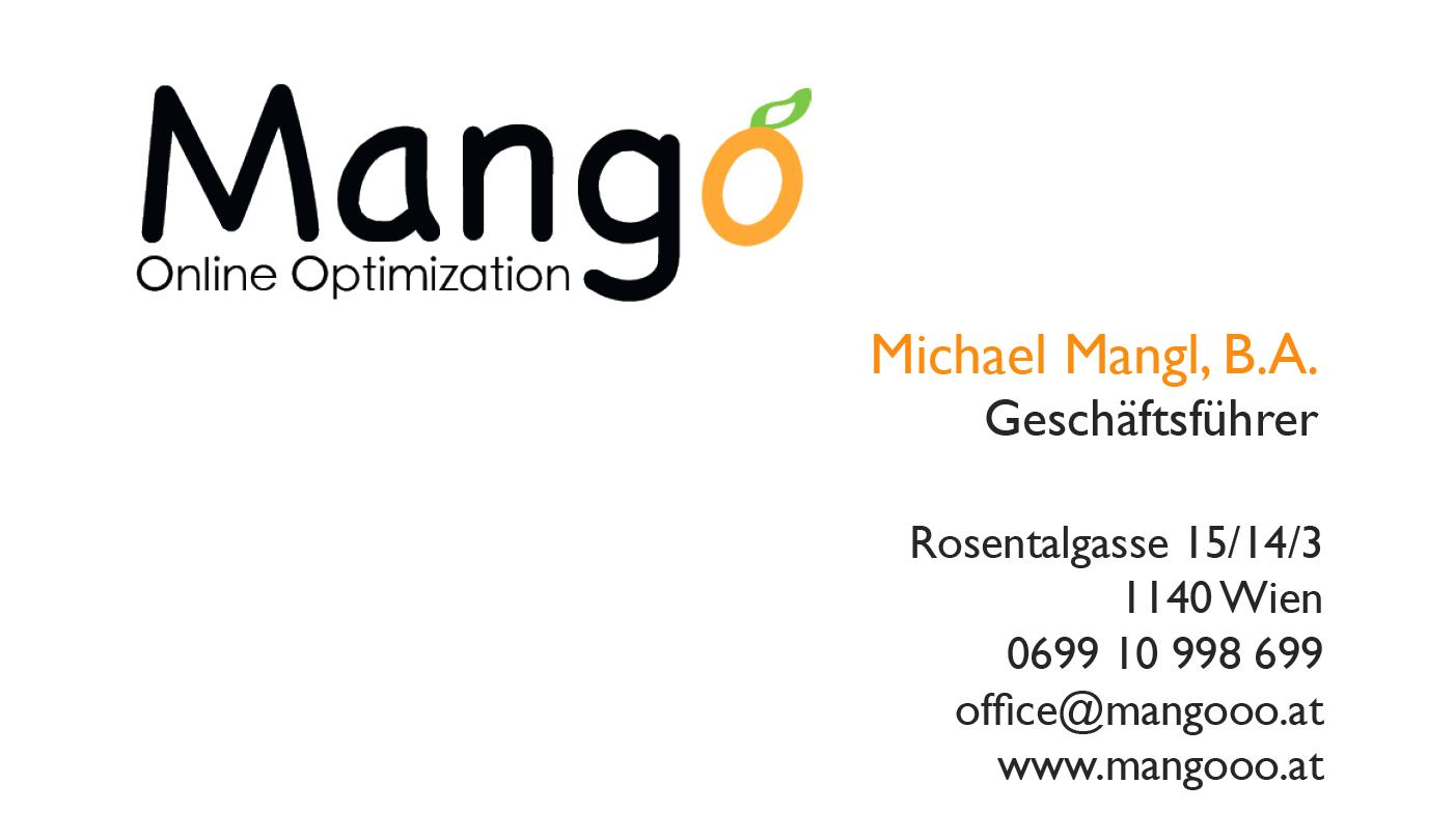 Mangooo - Online Marketing vom Feinsten